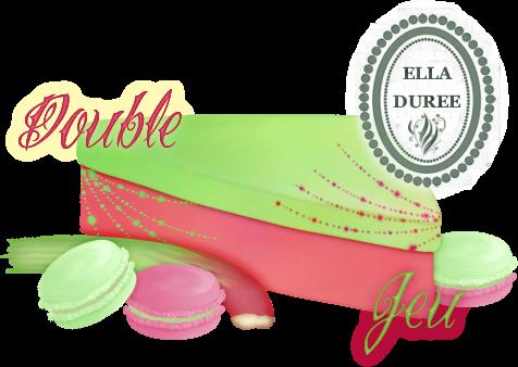 Créations pour Ella Durée MacaronsDoubleJeuEllaDuree